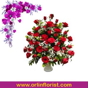 bunga meja jakarta 2