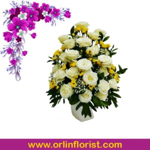 bunga meja jakarta 5