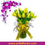 bunga vas meja