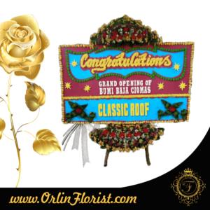toko bunga papan congratulation di bogor