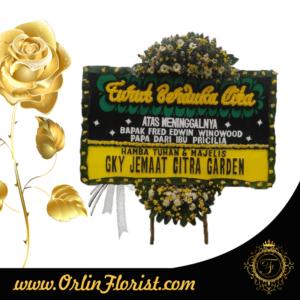 toko bunga papan duka cita di bekasi