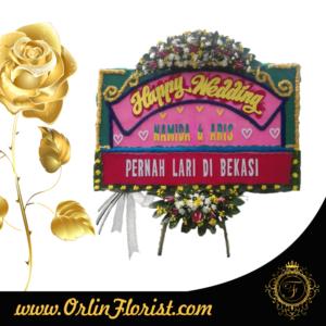 toko bunga papan pernikahan di jakarta