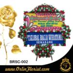karangan bunga papan peresmian di brebes
