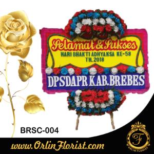 bunga papan congratulation di brebes