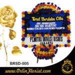 papan bunga ucapan duka cita di brebes