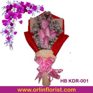 handbouquet bunga mawar di kediri