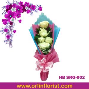 handbouquet bunga mawar di sragen
