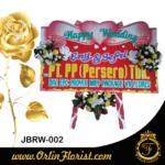 bunga papan pernikahan di jember