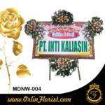 bunga papan happy wedding di madiun