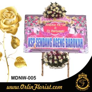 bunga papan pernikahan di madiun