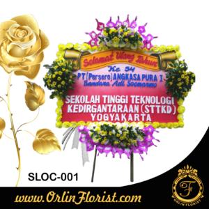 bunga papan congratulation di solo