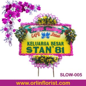 bunga papan pernikahan di surakarta
