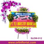 bunga papan pernikahan di solo