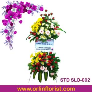 jual standing flowers di solo