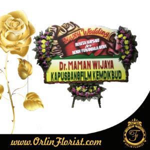 karangan bunga papan ucapan pernikahan di purwokerto