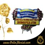 bunga papan ucapan happy wedding di purwokerto