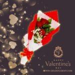 bouquet valentine bunga mawar merah murah