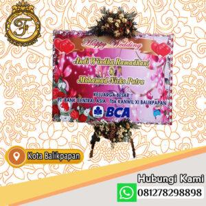 bunga papan wedding printing balikpapan