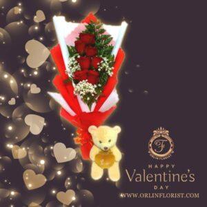 Bouquet Mawar Valentine Val-003