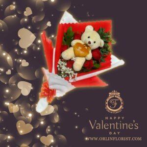 Bouquet Mawar Valentine Val-004
