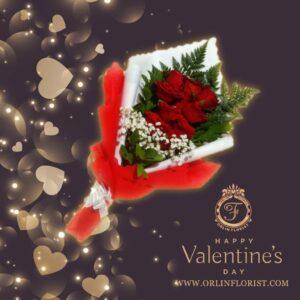 Bouquet Mawar Valentine Val HBL-008