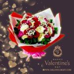Bouquet Mawar Valentine Val HBM-011