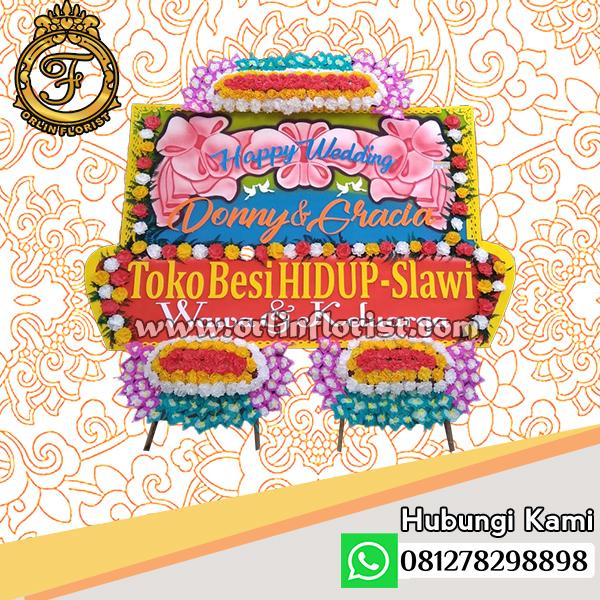 Bunga Papan Wedding Tegal OTGW-003