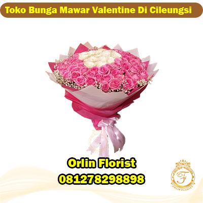 toko bunga mawar valentine di cileungsi