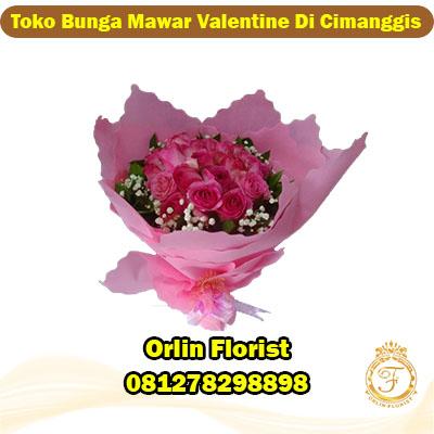 toko bunga mawar valentine di cimanggis