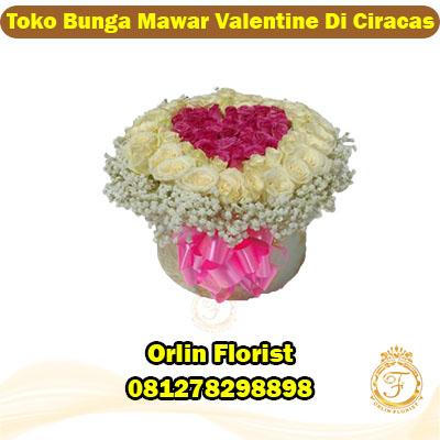 toko bunga mawar valentine di ciracas