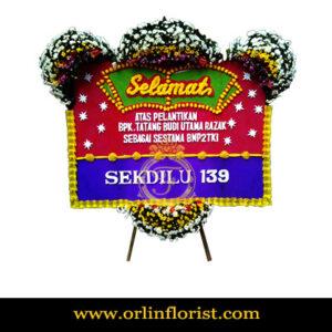 karangan bunga papan congratulation jakarta JKTC-006