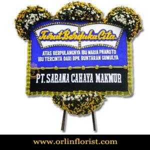 Bunga Papan Duka Cita Di Cibubur OJKTD-014