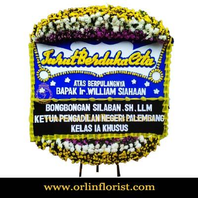 Bunga Papan Duka Cita Jakarta Barat OJKTD-024