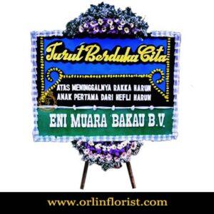 Bunga Papan Duka Cita Jakarta OJKTD-008