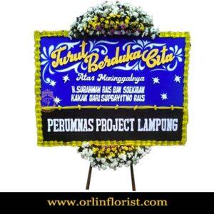 Bunga Papan Duka Cita Jakarta OJKTD-009