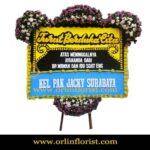 Bunga Papan Duka Cita Jakarta Selatan OJKTD-015
