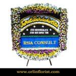 Bunga Papan Duka Cita Jakarta Selatan OJKTD-022