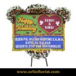 Karangan Bunga Papan Wedding OJKTW-012