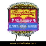 Karangan Bunga Papan Wedding OJKTW-018