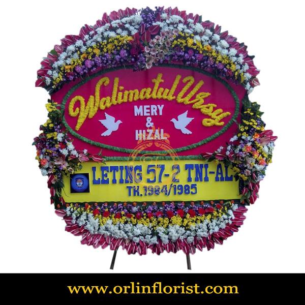 Karangan Bunga Papan Wedding OJKTW-024