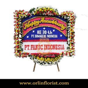 Bunga Papan Happy Aniversary OJKTC-015