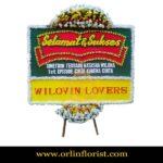 Bunga Papan Selamat dan Sukses Bekasi OJKTC-007