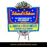 Bunga Papan Selamat dan Sukses Cibubur OJKTC-005