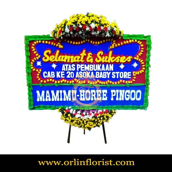 Bunga Papan Selamat dan Sukses Tangerang OJKTC-008