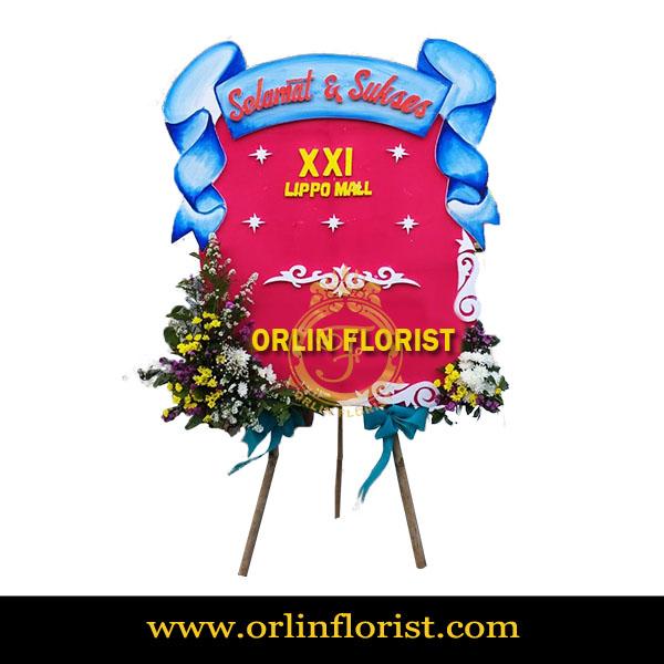 Bunga Papan Selamat dan Sukses Kecil OCGK-003