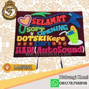 Bunga Papan Selamat Lampung LMP-008