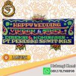 Bunga Papan Wedding Lampung LMP-005