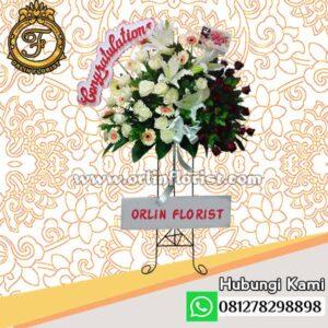 Standing flowers congratulations jakarta STC-002