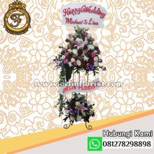 Standing Flowers Pernikahan Jakarta stn-001